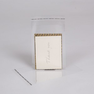 Clear Mailing Bags with peel and seal strip